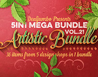 5in1 Mega Bundle v.21: Artistic Bundle