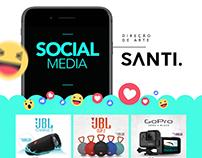 SOCIAL MEDIA | AGÊNCIA SANTI