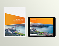 Real State Brochure (Print & Interactive Ipad version)