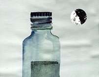 Moon's moods in a bottle