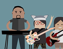 Illustration: band photo