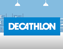 Animation for Decathlon website in Latvia