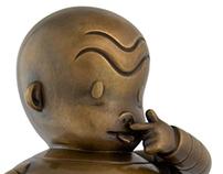 Gary Taxali Bronze Statue