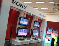 SONY Furniture Show Expo Stand 2010