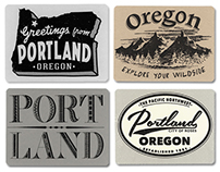 PDX Post Cards, Gifts, Vintage Type