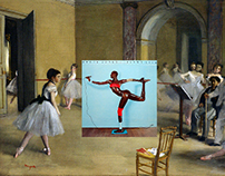 Famous Album Cover And Classical Painting Mashups