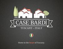Case Bardi Branding, Tuscany