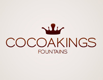 Cocoakings Fountains Brand Design