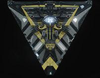 Illuminati scifi Door