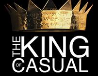 King of Casual (Adobe Illustrator & Photoshop)