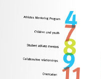 Athlete Mentoring Program brochure