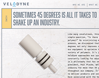 VeloDyne Website: polymer systems manufacturer