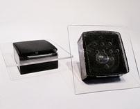 Magazine holder & iPod Dock