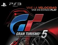SONY PS3 - GRAN TURISMO 5 - Impresión Digital