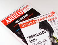 "Design for economy magazine ""Ärielu"", Kalev Meedia"