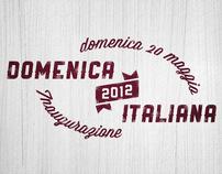 """""""Domenica Italiana 2012"""" - Logotype for various events"""