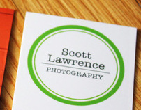 Scott Lawrence Photography Business Card