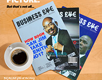 BUSINESS EYE MAGAZINE CORPORATE AD