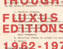 Fluxus Exhibition Poster: Museum of Modern Art