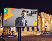 Outdoor Advertising Mockups Vol 2 - Billboards Edition
