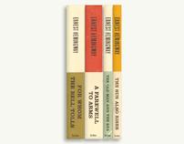 Hemingway Book Cover Series