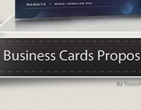 Yosh Business Card Concepts