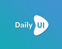 Daily UI App Challenge