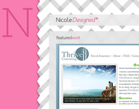 NicoleDesigned Website