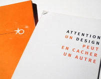 OBSERVEUR DU DESIGN 2005 - PRESS-KIT (editorial design)