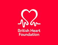 British Heart Foundation font