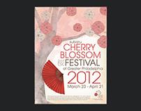 Cherry Blossom Festival Poster