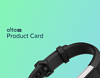 Fitbit Alta HR Product Card