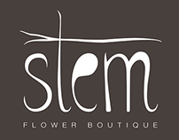 Stem Flower Boutique Branding