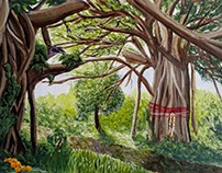 Sacred Banyan Tree