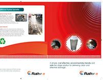 Flusher Tri-Fold Brochure