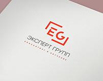 Логотип и фирменный стиль для компании Эксперт Групп