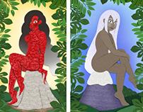 Hawaii Goddesses Pin-ups