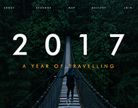 2017 - A year of travelling