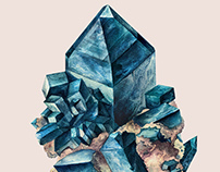 Mineral Admiration /  Story of Dioptase