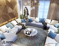 809-T.H - Majlis interior design