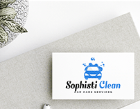 Logo/Branding- Sophisticlean - Car Care Services