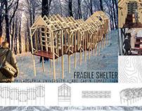 PhilaU C_ABE Cabin Competition - Fragile Shelter