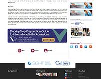 Web Banners for PrepAdviser