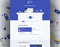Xpose website design