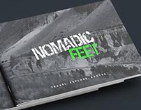 Brochure for Nomadic Feet