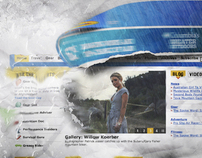 Columbia Disaster Banner