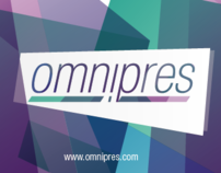 logo, web and business card of omnipres