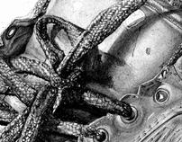 zapato a lapiz, proyecto universitario