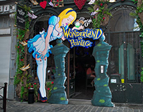 Character design alice in wonderland