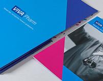 VIVA Pharm Brand Identity